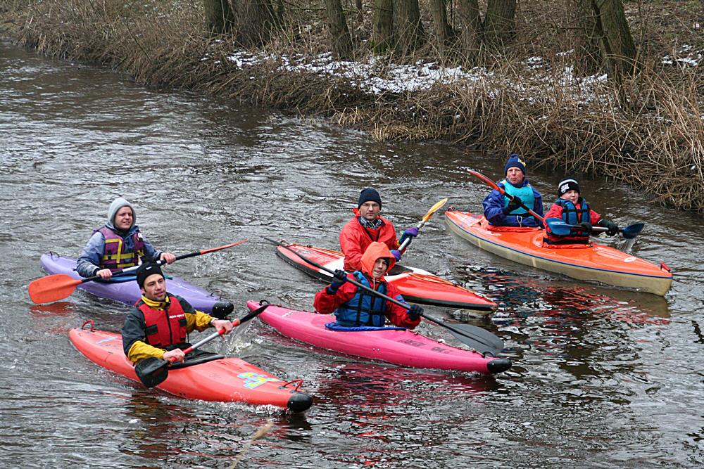 Ankunft der Kanuten in Ottersberg