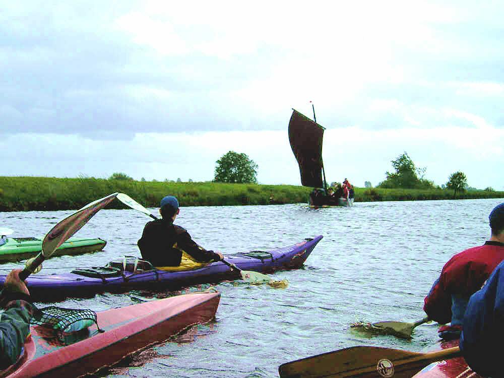 Ottersberger Kanuten auf der Hamme