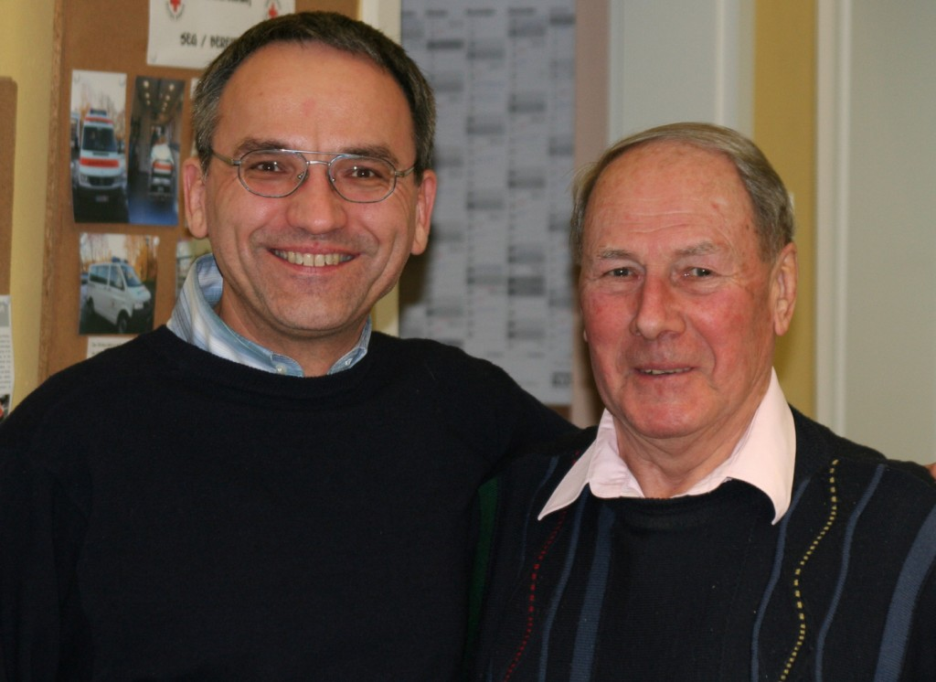 Arno Gundlack (Vorsitzender), Benno Schurig (35 Jahre)