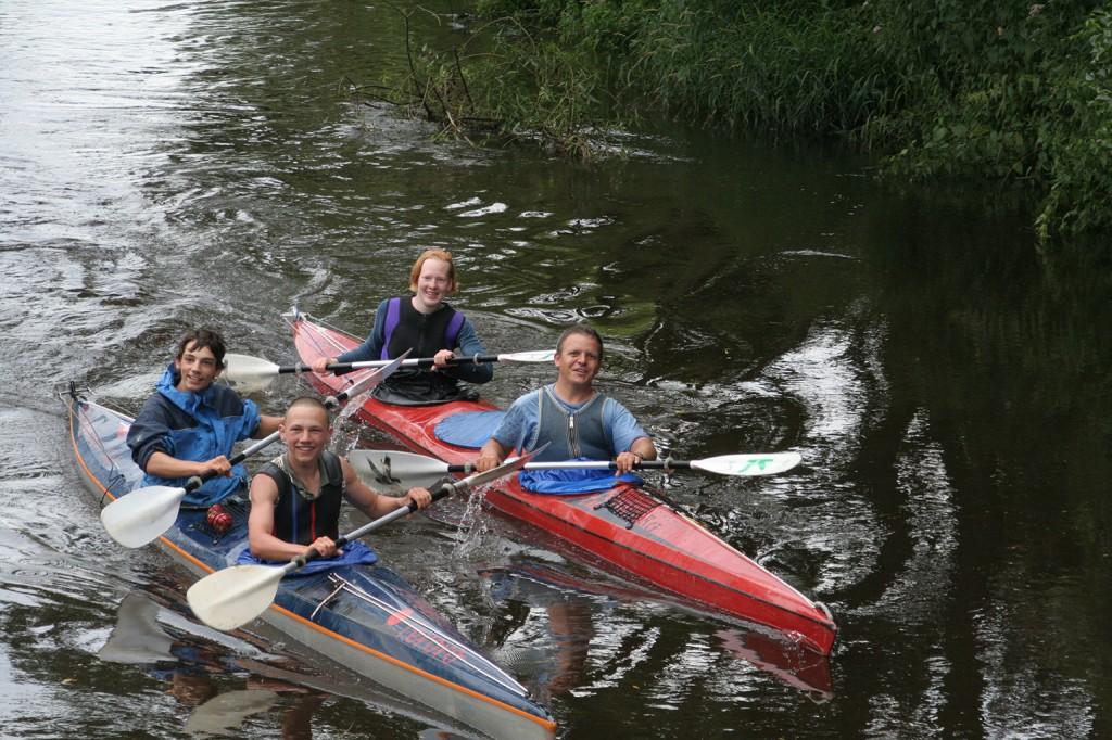 Ottersberger Kanuten paddelten von der Tschechischen Grenze bis Ottersberg