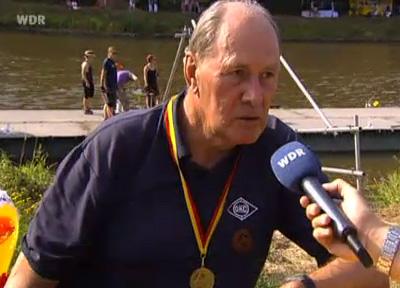 Schurig im Interview mit dem WDR
