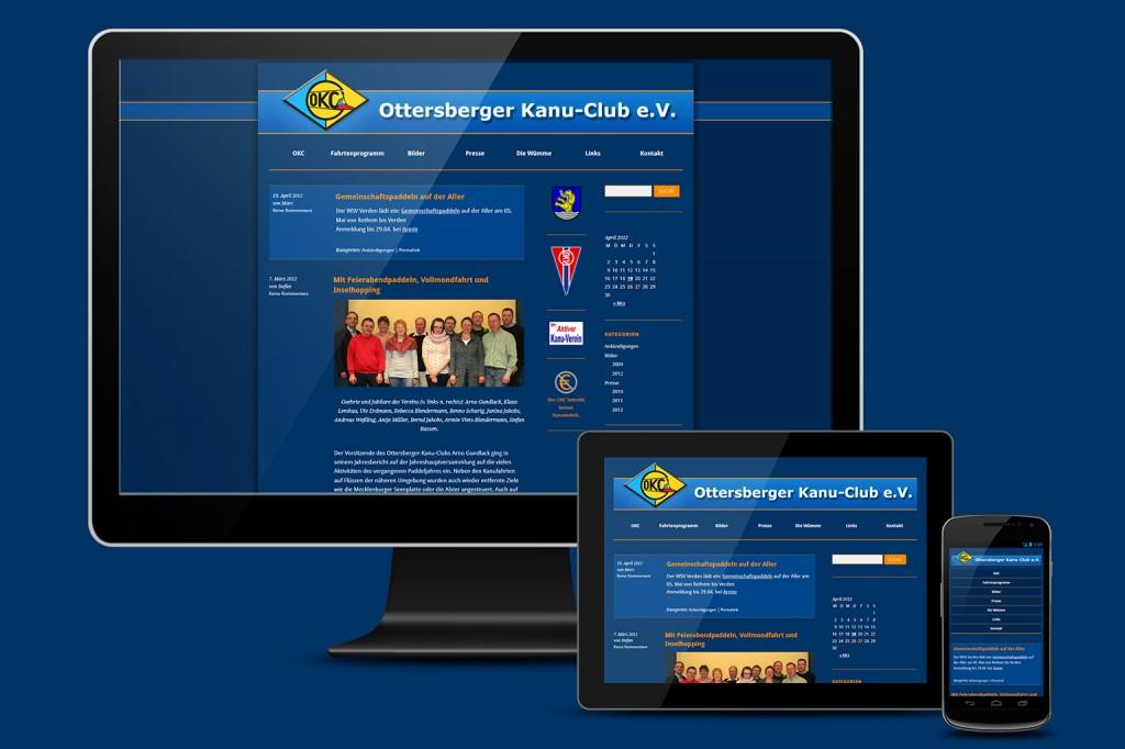Responsive Design: Damit ist die Seite auch auf mobilen Endgeräten wie Smartphones oder Tablets vernünftig lesbar.